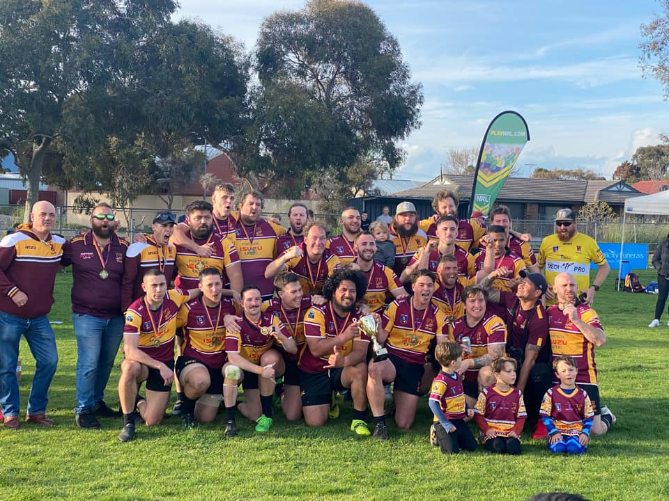 Western Warriors successfully defend NRL SA title