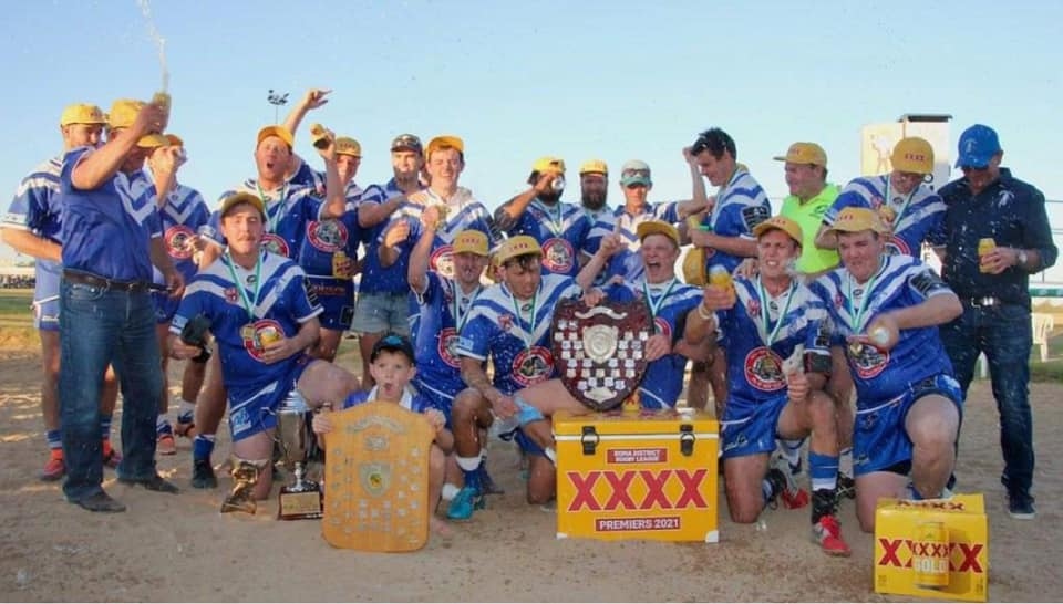 Gladiators claim 2021 Roma Rugby League title