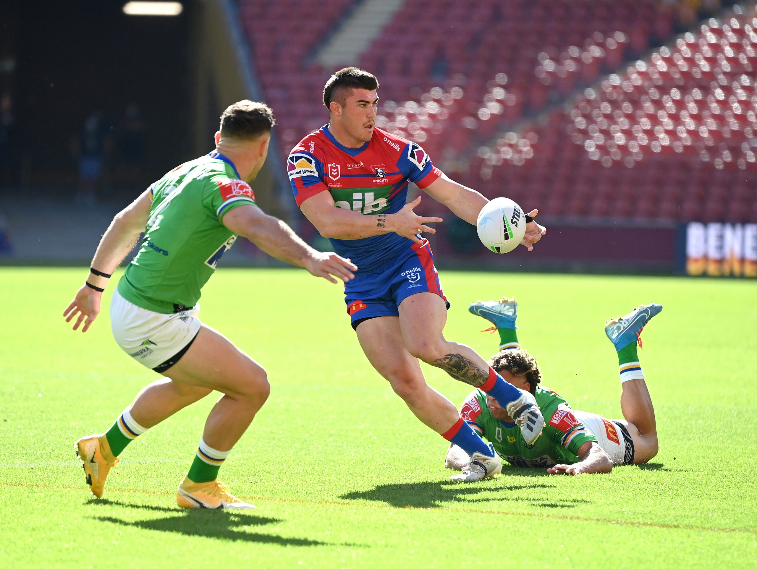 Back to their Best Knights defeat Raiders