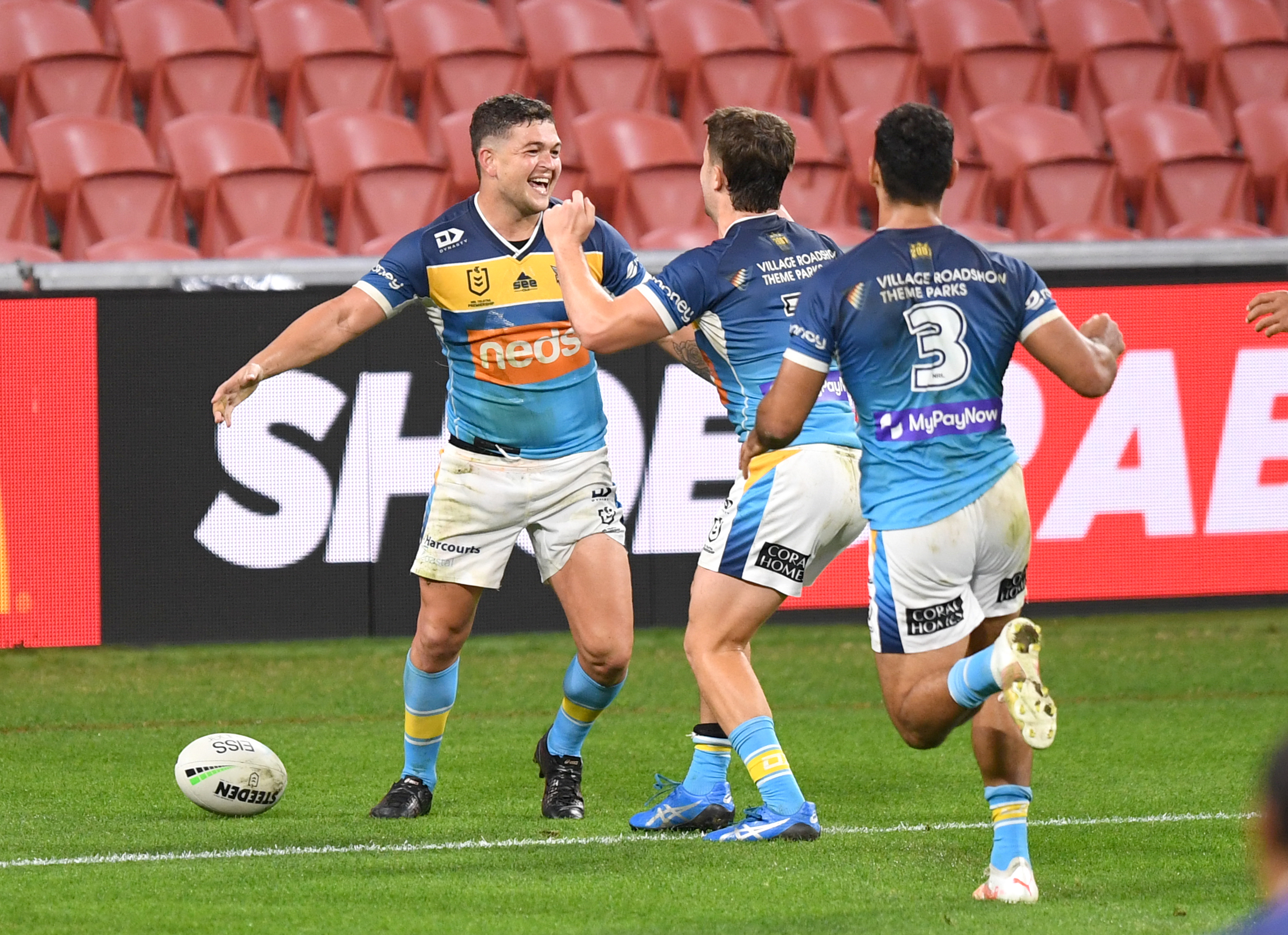 Taylor masterclass steers 'accountable' Titans into eight