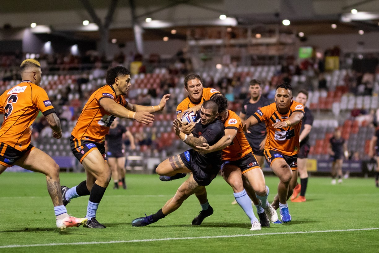 Nikorima hat-trick helps secure Dolphins win over Tigers