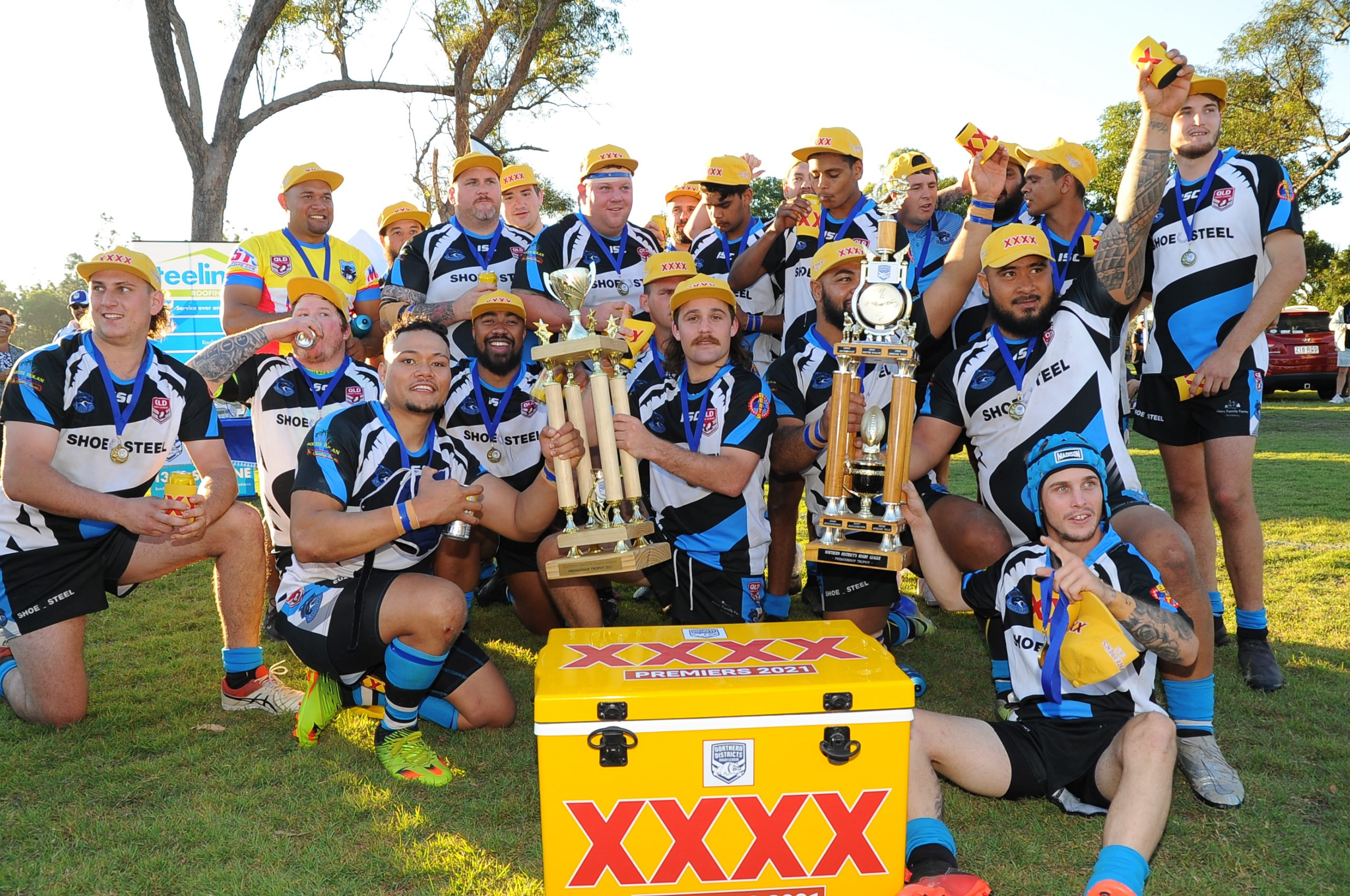 South Kolan Sharks win Northern Districts title