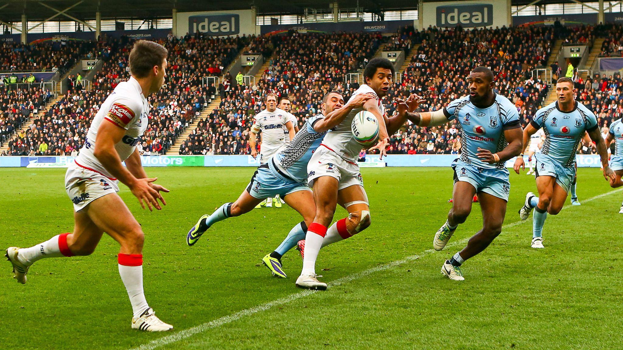 England v Fiji Test postponed until 2022