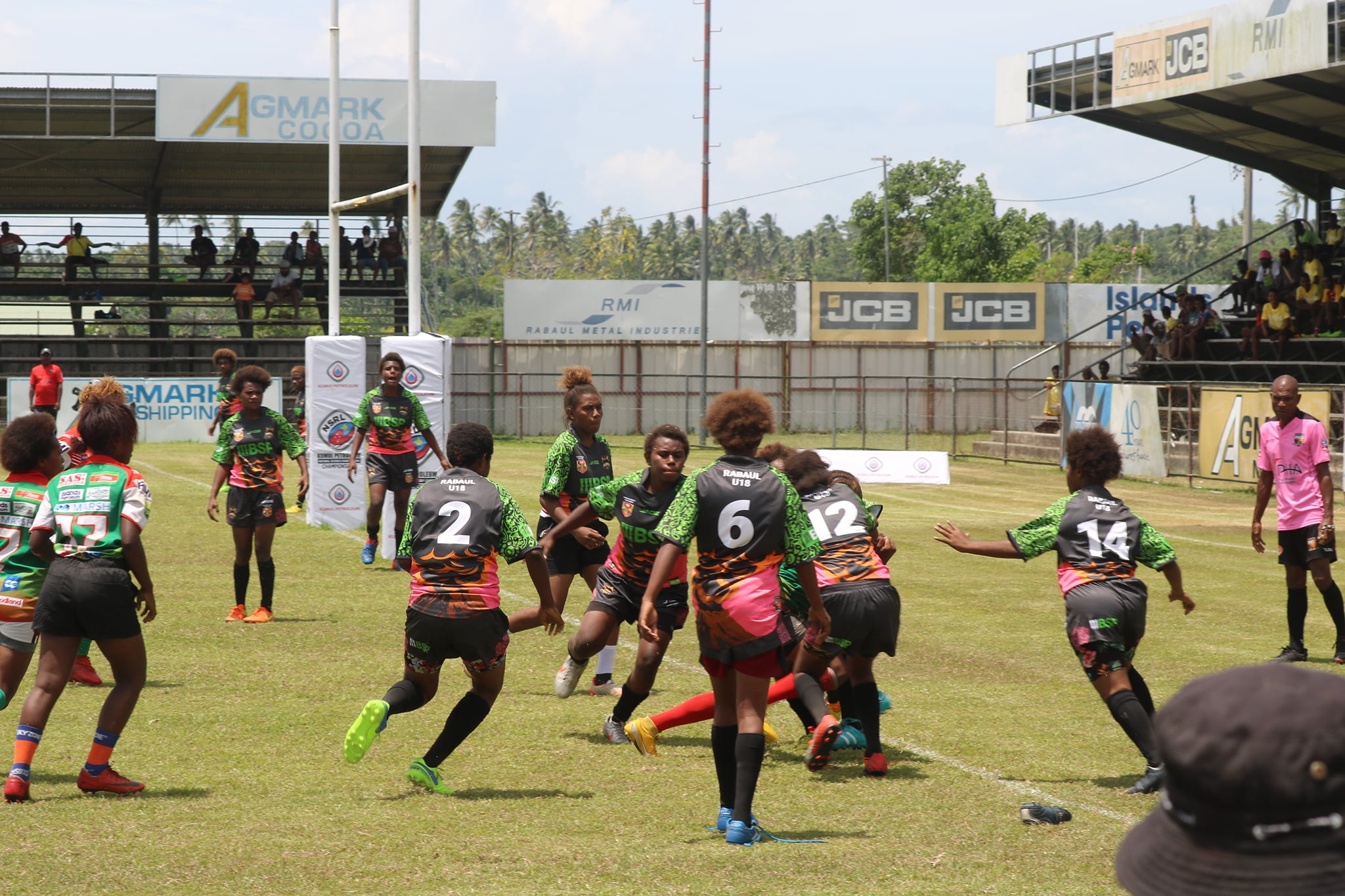 West New Britain enjoy successful start in opening day of PNG Schools National Championship
