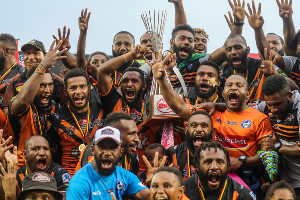 Lae Tigers claim fourth title in six years with win over Waghi Tumbe