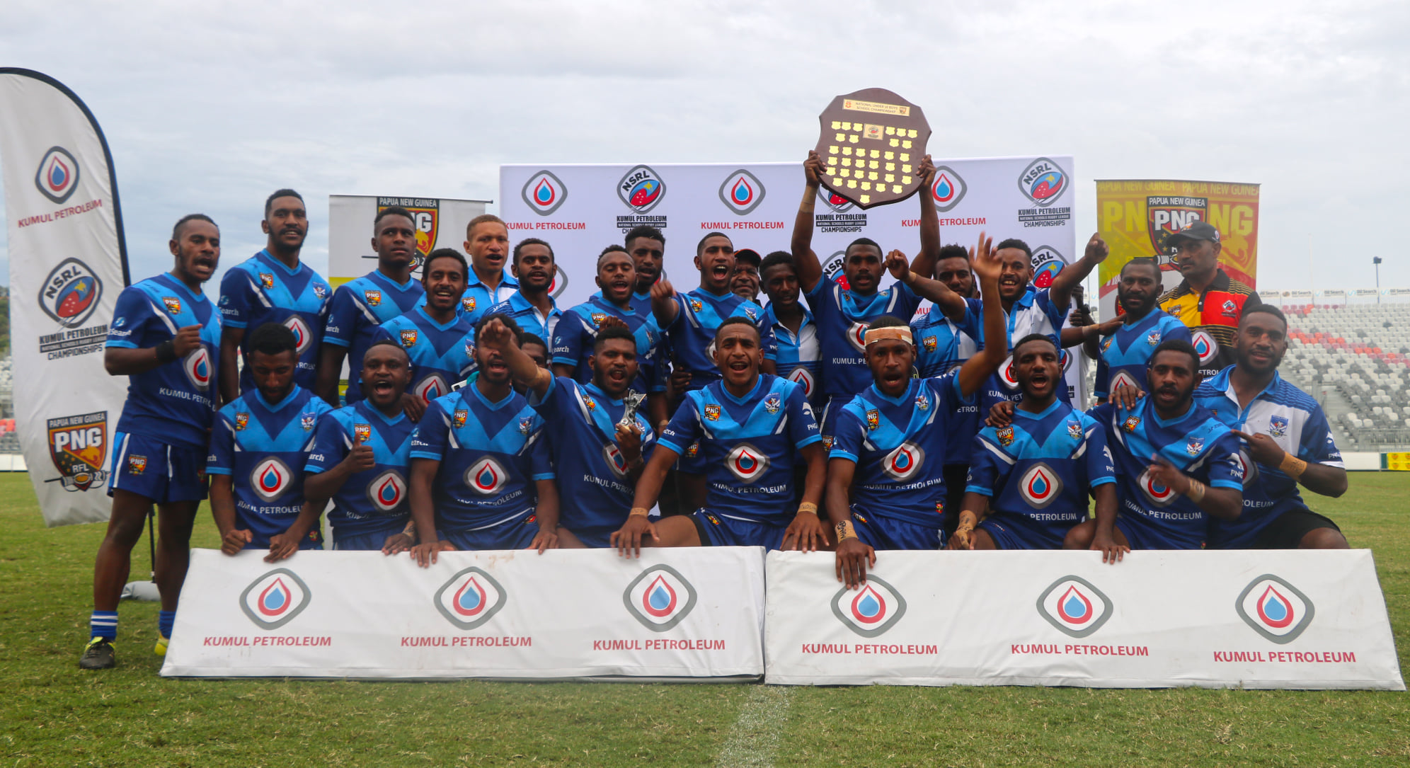 Highlands win Under 16s PNG National Schools title