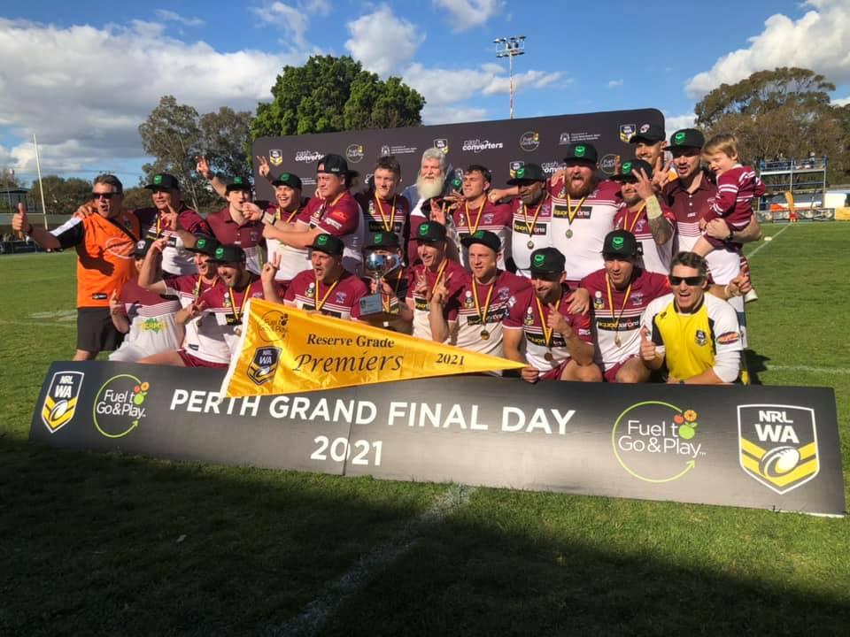 North Beach go back-to-back in NRLWA Men's Reserve Grade