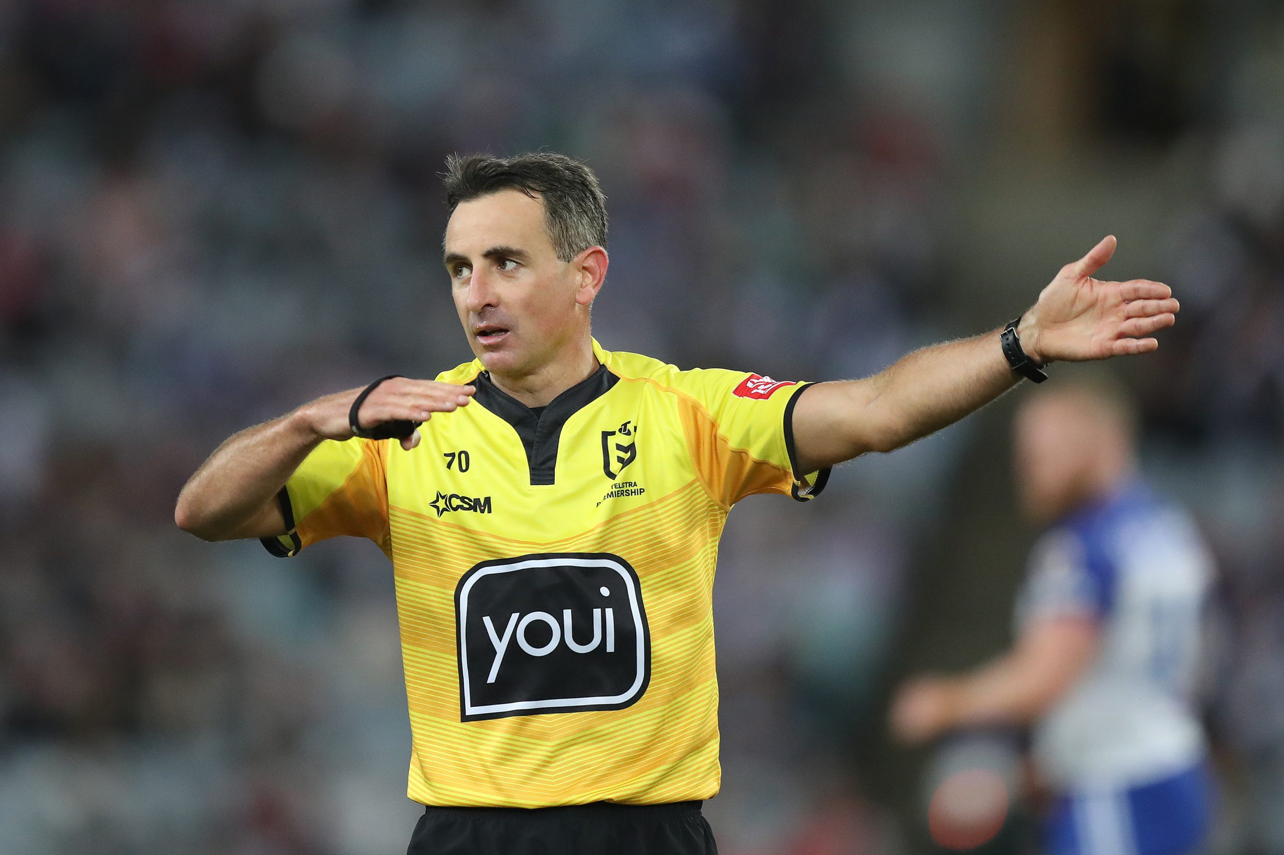 Gerard Sutton named to referee his seventh NRL Grand Final