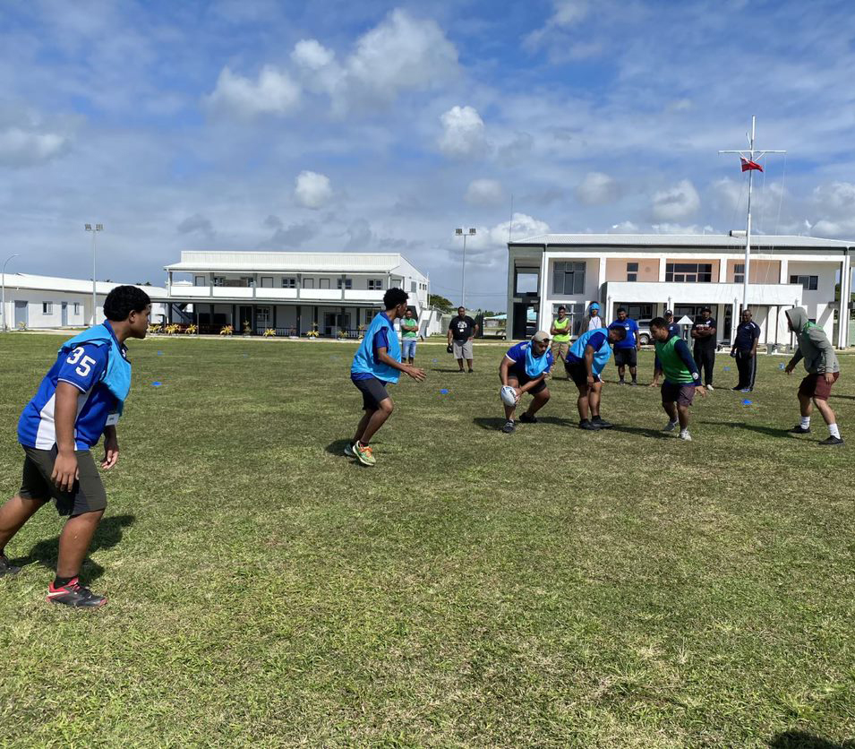 Tonga TeamUp partners join forces for groundbreaking training with ADF