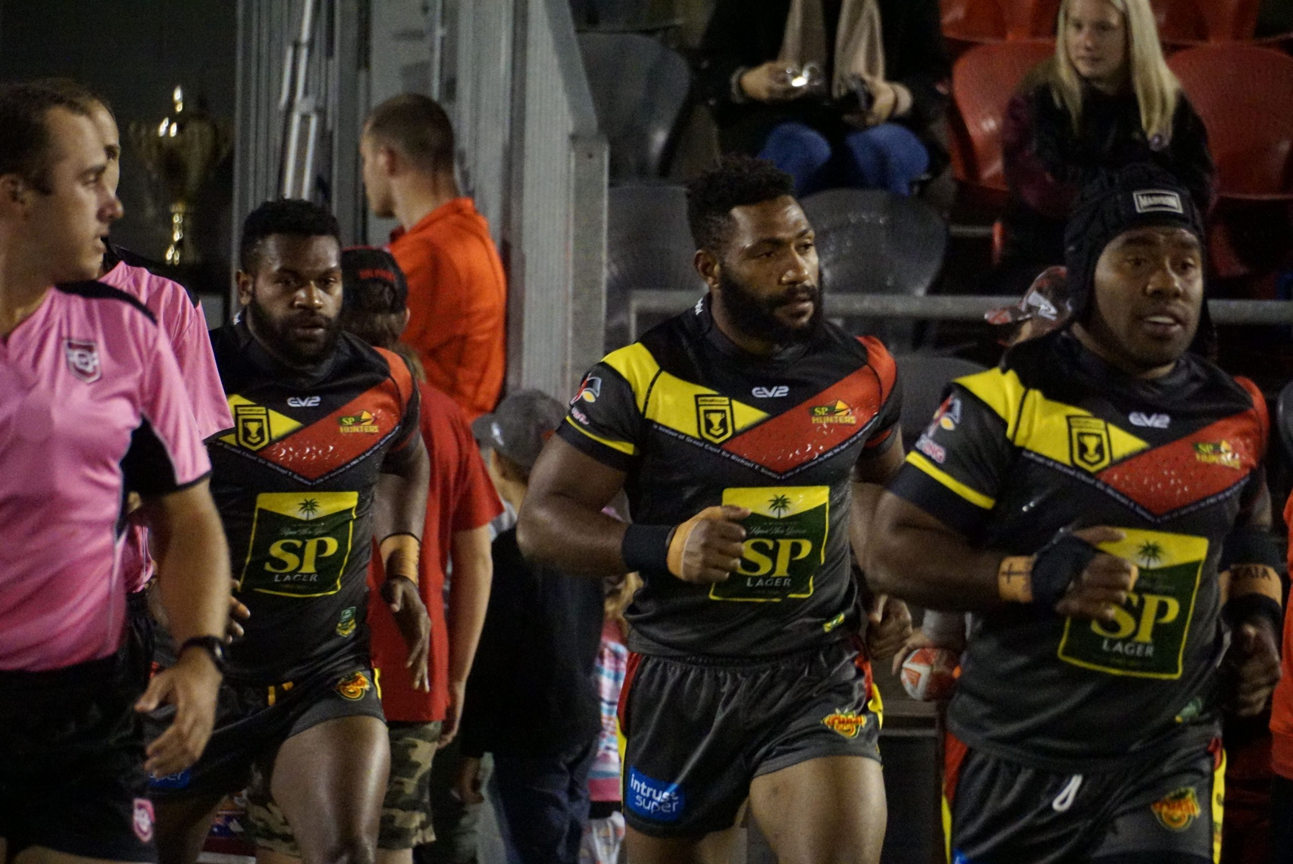 Winning PNG Hunters retain line-up for first time