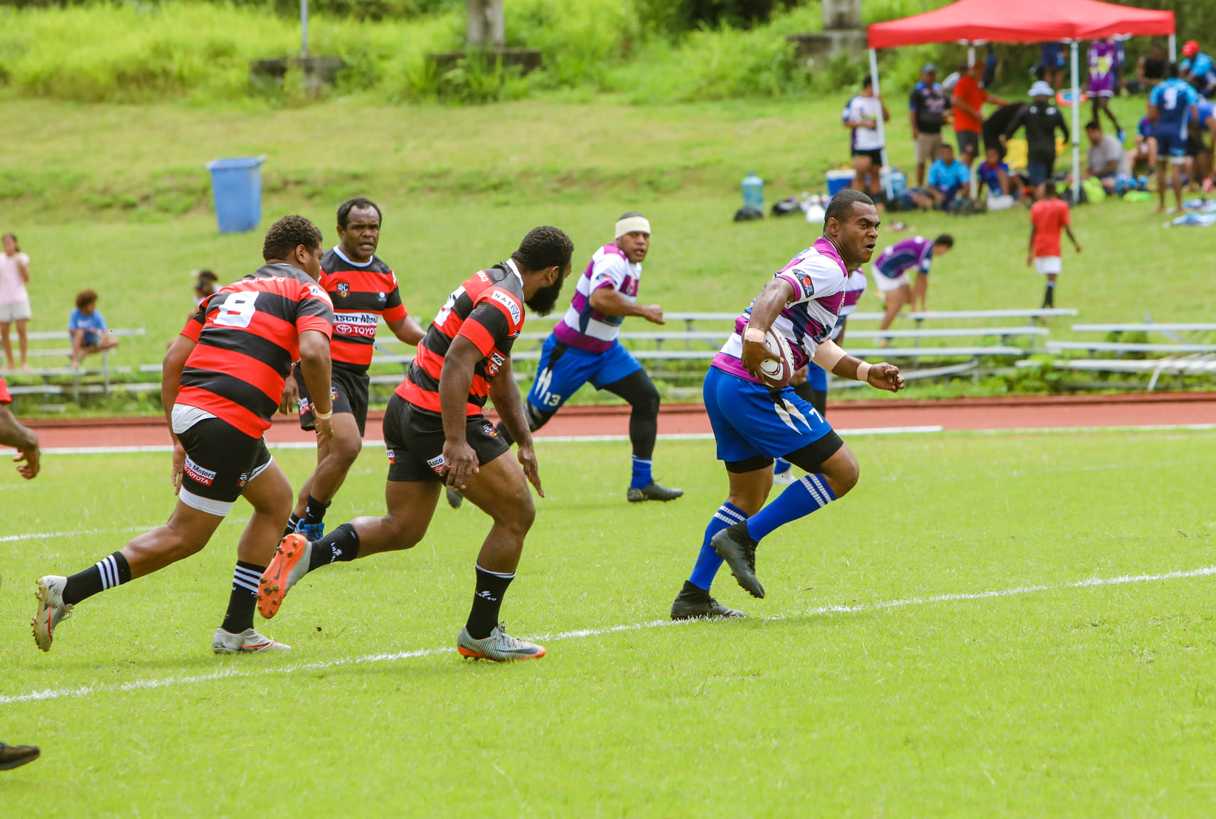 Police Forces hold pole position heading into Day Two of the Port Vila Nines